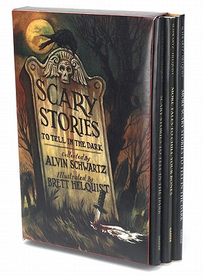 Scary Stories By Schwartz, Alvin/ Helquist, Brett (ILT)